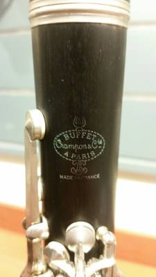 Store Special Product - BUFFET BC1131-2-0 Bb WOOD CLARINET